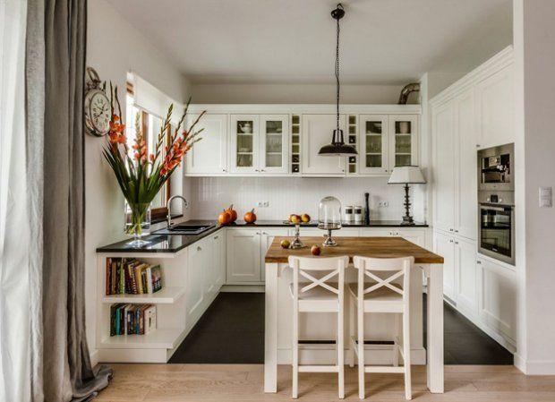 Wyspa kuchenna - aranżacje, inspiracje - zdjęcie