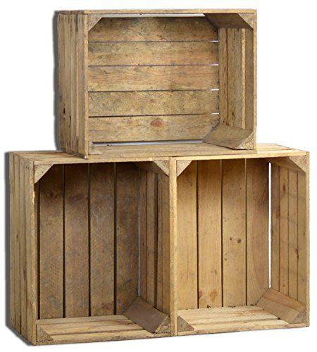 Schön #Raumidee Des Tages: Vintage Holzkisten Für Die Deko Im #Landhausstil U003c3 ▻