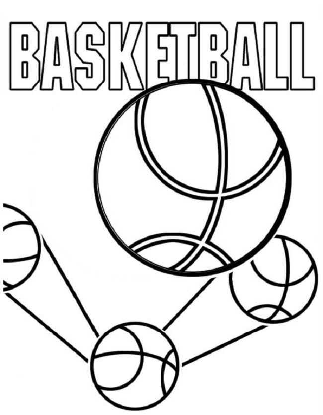 basketball team coloring pages