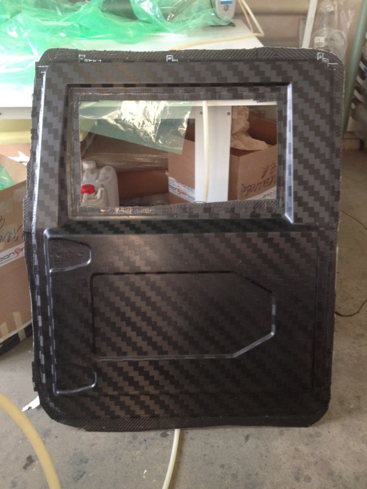 Carbon Fiber Door Now That S Amazing Hummer H1 And