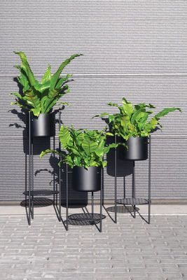 Ent Small Flowerpot - H 56 cm / Metal by XL Boom