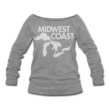 For Barbara. Midwest Coast Sweatshirt | Spreadshirt | ID: 4556793