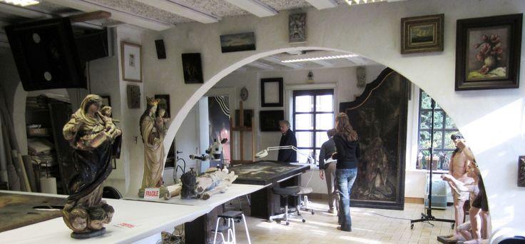 De specialiteit van Atelier Kerat is restauratie schilderijen en beelden conservatie. De ateliers restaureren oude én nieuwe kunstwerken, op doek, paneel, papier of andere dragers. Hierbij inbegrepen: iconen, muurschilderijen, steen-  gips- en/of houten beelden. Verschillende restauratietechnieken worden gebruikt, zoals: reinigingen en retouches, herstellen van de grondlagen, behandeling van houtworm en schimmels. Neem gerust een kijkje op zijn website www.kerat.be, alwaar referenties sinds…