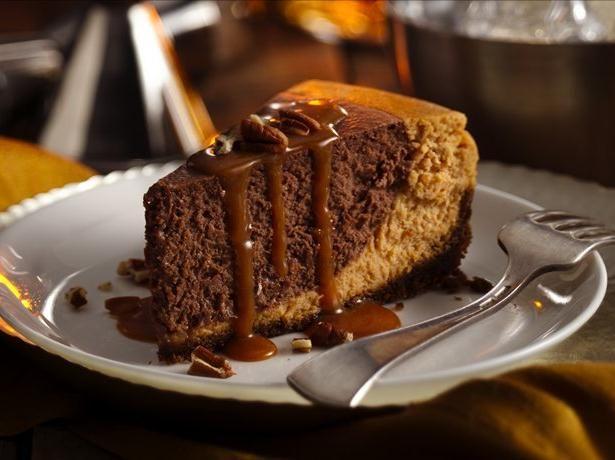 Chocolate Bourbon Pumpkin Cheesecake | Recipe