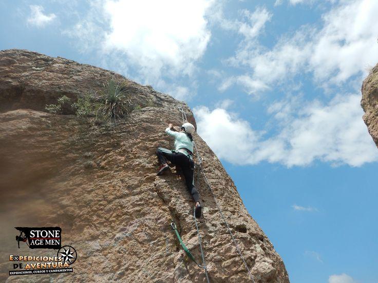 Un excelente tiempo para #escalar en #Guanajuato #Travel #Adventure #Climbing