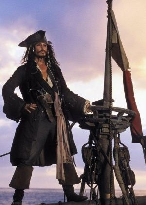 *CAPTAIN JACK SPARROW ~ PIRATES of the CARIBBEAN: The Curse of the Black Pearl…