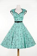 Pinup Couture Heidi ruha, Méret S, Új, elsőrendű lány ruházat, Halálos Dames