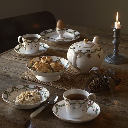 Star Fluted Christmas Dinnerware by Royal Copenhagen