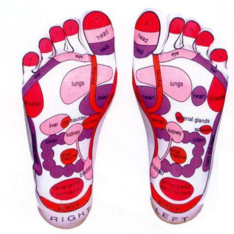 Reflexology Foot Massage Socks