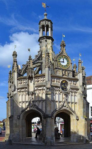 market cross. This one is in Chichester, West Sussex, England