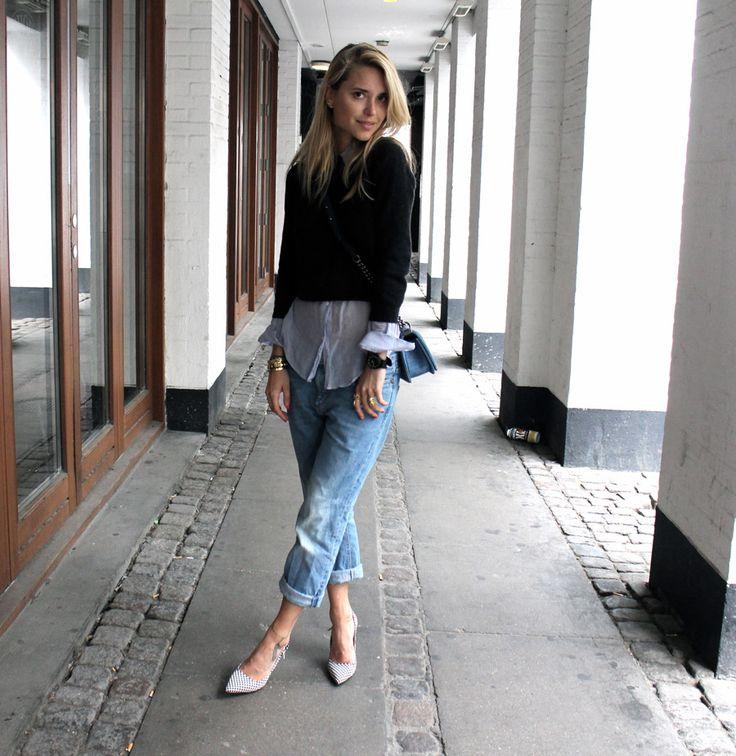 Look De Pernille Street Fashion Pinterest