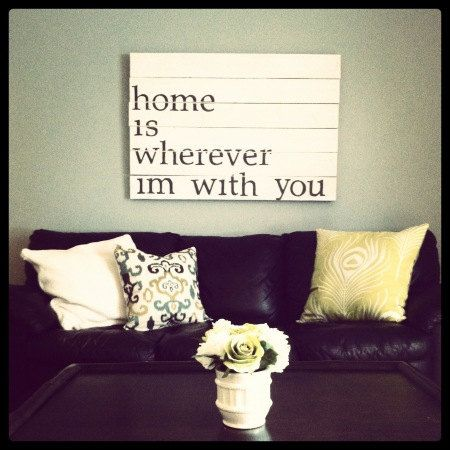 Home Is Wherever Im With Youwould Love This Over The Bed Edward Sharpe And Magnetic Zeros Lyric Quote