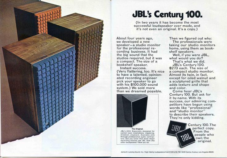 Loja de esquina: JBL L100