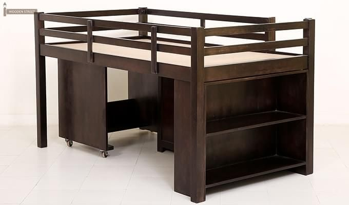 Hercules #Bunk #Bed With Storage in Walnut Finish Online : Buy Affordable & Modern #bunk #Bed online at best prices in India from Wooden Street. Explore our full range of bunk #bed to enjoy a good night sleep. Visit : https://www.woodenstreet.com/bunk-beds in #Mumbai #Nagpur #NaviMumbai #NewDelhi #Noida