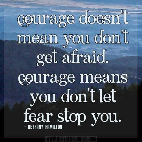 Courage definition by Bethany Hamilton