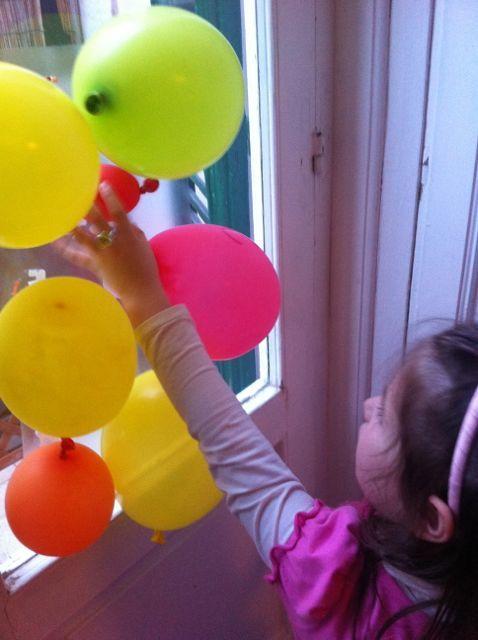 """Riusa i palloncini di compleanno - """"REBLOWN"""".  Seconda Chance - le idee per riusare i palloncini! #lavoretti #per #bambini"""