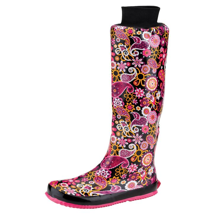 These unique 100% waterproof rain boots fold up for easy storage. The Packable Puddletons included a travel bag that makes these boots the perfect rainy day companion.