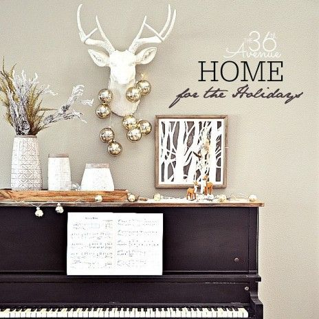 I love Christmas Decor! The Christmas trees, lights, ornaments, garlands, and the warm feeling of this special season always inspires me to give my home a new look for the holidays! Today I'm sharing our piano area. This old piano gets a lot of love and attention from my kids and I wanted to...