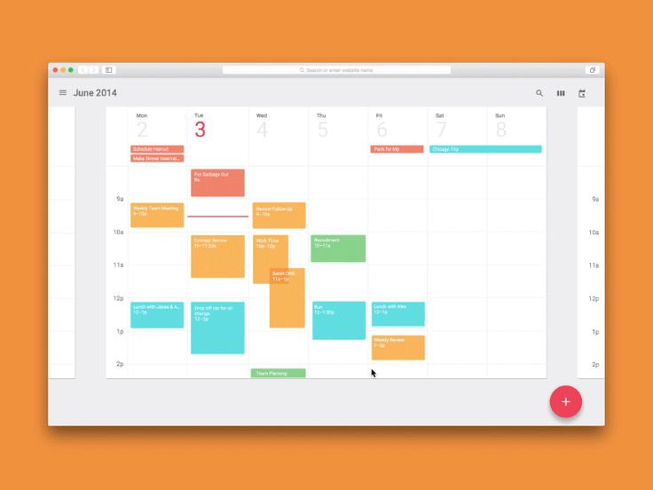 Check out the live prototype here! I'm a huge fan of Material Design and also have been using Framer.js to prototype ideas. I decided to try recreating the calendar featured in the Material Design...