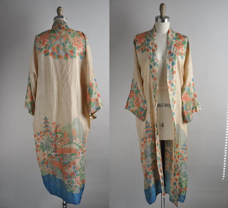 Kimono Style Dressing Gowns