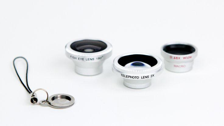 Fisheye, Telephoto & Macro / Wide Angle Lenses - Pro φακοί για το smartphone σου