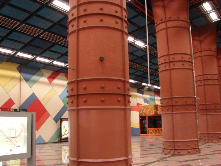 favorite metro station in Lisbon