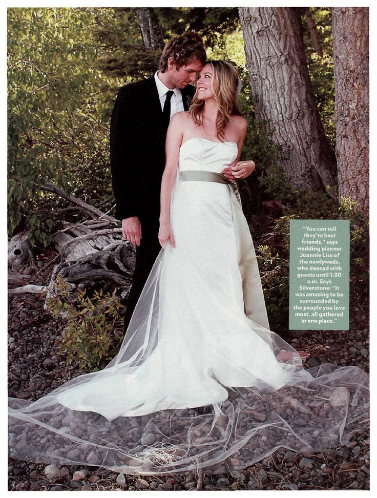 Alicia Silverstone &  Christopher Jarecki June 11, 2005
