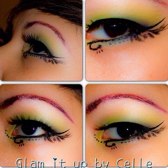 Design eye makeup