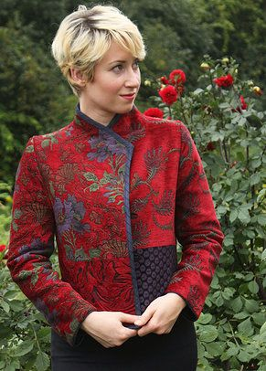 Mary Lynn O'Shea: Designer | Weaver | Essex Jacket