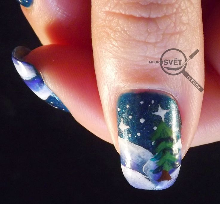 Mikrosvet by Ellen: BNA challenge #5: Zimní a Vánoční tématika