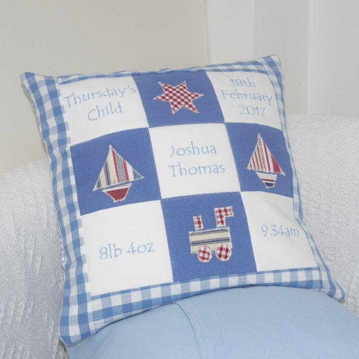 Memory Cushion Blue
