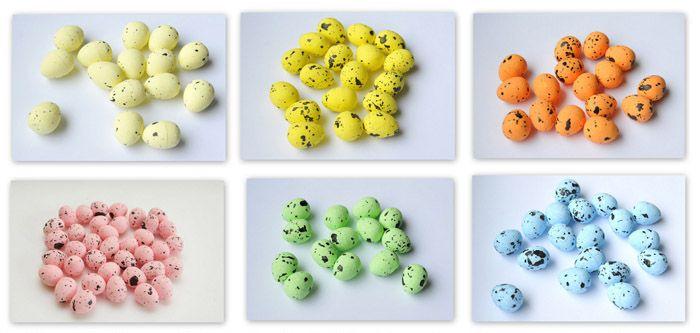 Jajeczka Ozdobne jak przepiórcze / Small eggs perfect for Easter decorations