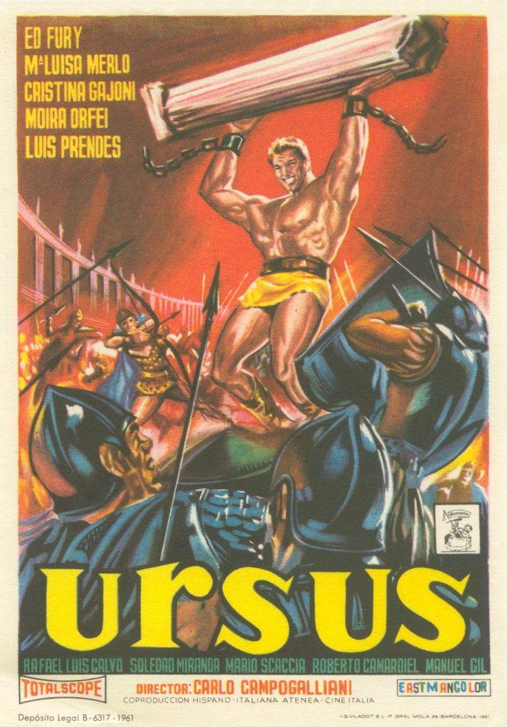 Ursus (1961) Ed Fury, Cristina Gaioni, Moira Orfei, Mario Scaccia, María Luisa Merlo