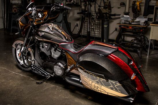 Nikki Sixx Designs Victory Cross Country 8-Ball - Photo Gallery http://www.autoevolution.com/news/nikki-sixx-designs-victory-cross-country-8-ball-photo-gallery-72680.html?utm_content=buffer54ad8&utm_medium=social&utm_source=pinterest.com&utm_campaign=buffer