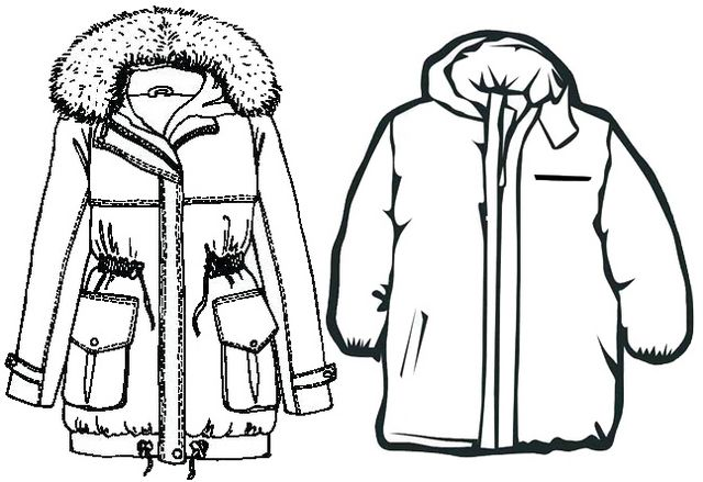New Winter Jacket For Man And Woman Coloring Page Winter Jackets Mens Jackets Winter Jacket Men
