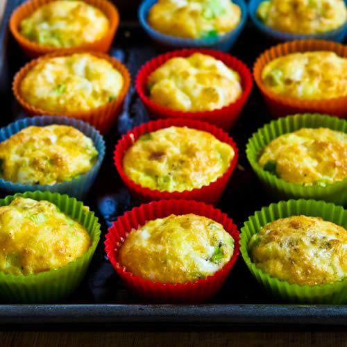 Recipe For Egg Muffins found on KalynsKitchen.com