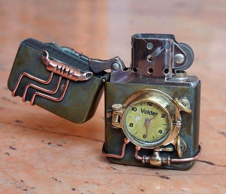 Vermont Dead Line: STEAMPUNK Gadgets and Devices #steampunk #steampunkeer
