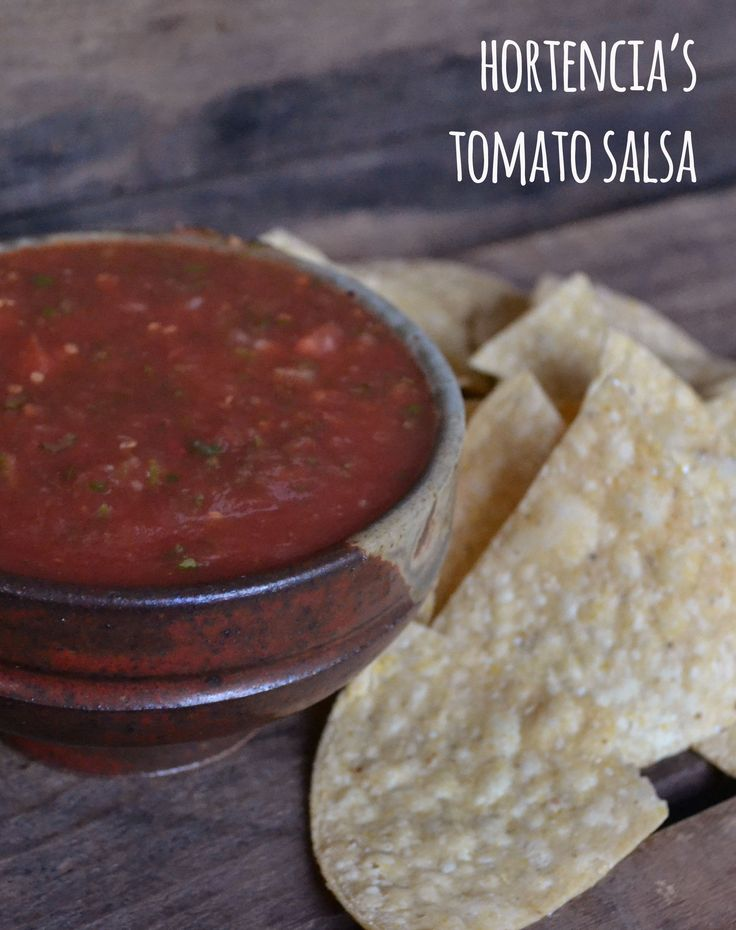 Hortencia's Tomato Salsa - This was the 2010 winning recipe in our salsa-making contest here in the farm office, courtesy of Hortencia Duran. Enjoy!