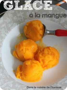 Sorbet à la mangue