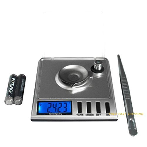 Next-shine High Precision Digital Milligram Scale 20 x 0.001g Reloading with Sal #Next