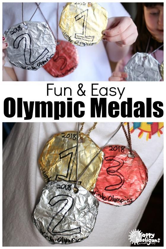 Here's another fun and easy Olympics craft for the kids to make at home or daycare!These gold, silver and bronze medals are great for pretend play, for backyard Olympics or to simply wear when your kids are watching their favourite athletes compete. The process is simple but fun and you only need a few basic supplies to make them!Check them out with the link below!