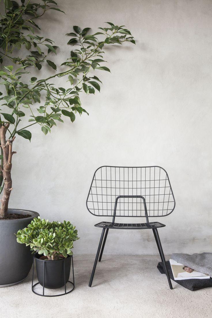 MENU, Wire Pot By Norm Architects, WM String Chair By Studio WM