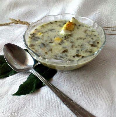Di gotuje: Zupa szczawiowa (świeży szczaw)