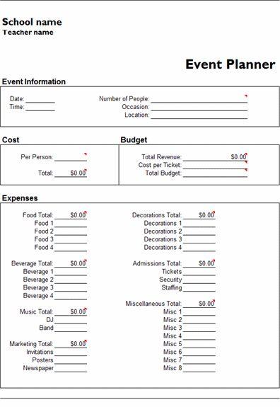 microsoft office planner template