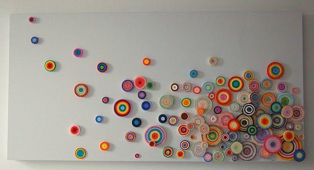 paper circles art
