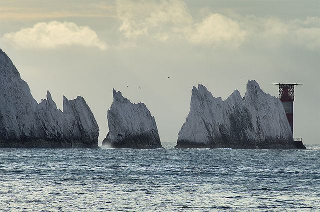 England: The Needles at Isle of Wight by ovofrito, via Flickr