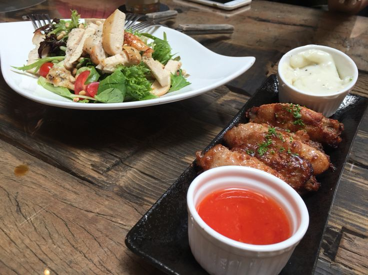 Caesar Salad & Chicken @ The Lab SG