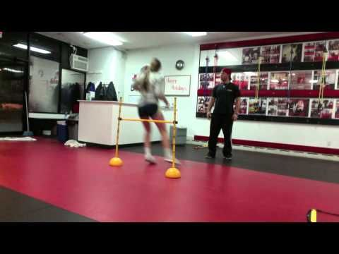 Volleyball Speed, Agility, & Vertical Leap Training - YouTube