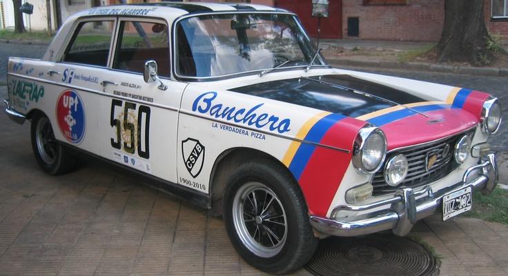 Peugeot 404 Grand Prix 1972. Corrió 4 Grandes Premios Argentina YPF Histórico y llegó en cada uno de ellos, auto muy confiable. Totalmente original.  http://www.arcar.org/peugeot-404-grand-prix-1972-46845