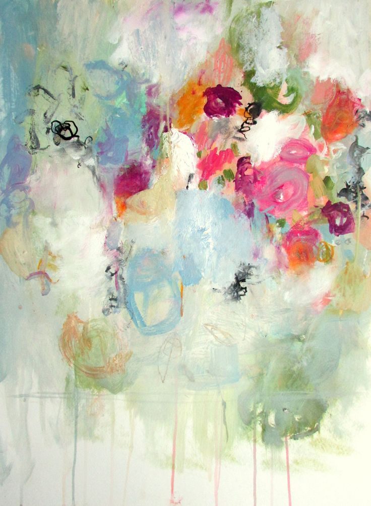 25 Best Ideas About Abstract Flowers On Pinterest